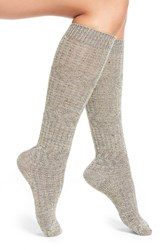 Smartwool Women's 'Wheat Fields' Merino Wool Blend Socks Medium Gray Heather