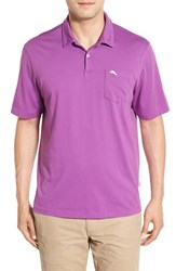 Tommy Bahama Men's Big And Tall 'Bali Sky' Pima Cotton Polo Pansy Purple