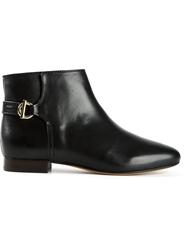 Tila March Toggle Detail Ankle Boots Black