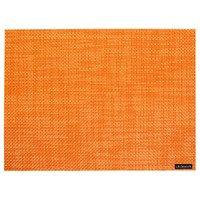 Chilewich Basketweave Rectangle Placemat Papaya