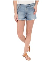 Hudson Tori Slouch Short Cut Off In Kensington Kensington Women's Shorts Blue