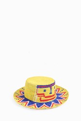Sensi Studio Jojo Face Straw Hat Yellow