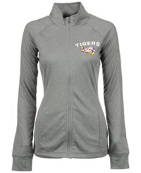 Vf Licensed Sports Group Women's Lsu Tigers Count The Wins Full Zip Jacket Gray