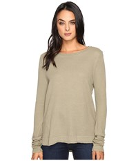 Lamade Austin Crew Neck Musk Women's Long Sleeve Pullover Taupe