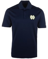 Under Armour Men's Notre Dame Fighting Irish Performance Polo Shirt Navy