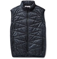 Orlebar Brown Ayton Quilted Hell Gilet Navy