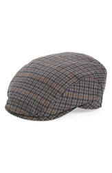 Wigens Men's Tweed Driving Cap With Earflaps