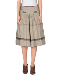 I'm Isola Marras Skirts Knee Length Skirts Women Beige