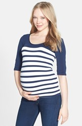 Women's Tees By Tina 'St. Barts' Ballet Sleeve Maternity Top
