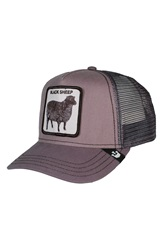 Goorin Bros. 'Shades Of Black' Mesh Trucker Hat Grey