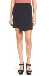 Leith Women's Faux Wrap Miniskirt
