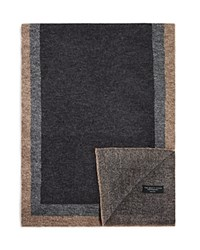Bloomingdale's The Mens Store At Bloomingdales Frame Wool Scarf Grey Taupe