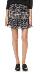 Madewell Short Skirt Charcoal Grey