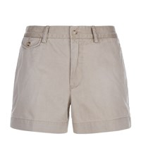 Polo Ralph Lauren Sloane Chino Shorts Female Beige
