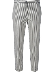 Mauro Grifoni Striped Cropped Trousers