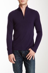 Elie Tahari Marcus Cashmere Sweater Purple