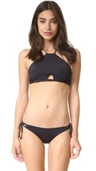 Tavik Rylan High Neck Bikini Top Black