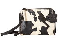 Scully Night On The Town Mini Purse Black White Handbags