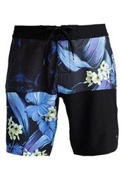 Rusty Flumes Fixed Swimming Shorts Blue