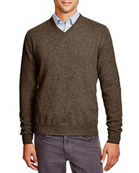 The Men's Store At Bloomingdale's Cashmere V Neck Sweater Toasted Almond