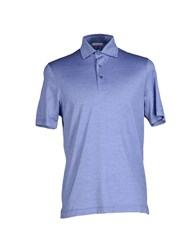 Zanieri Topwear Polo Shirts Men Blue