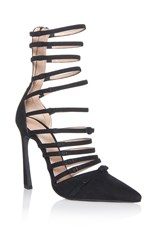 Giambattista Valli Multi Strap Sandals Black