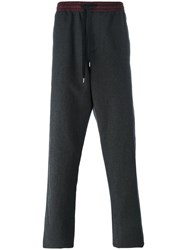 Andrea Pompilio Elasticated Waistband Sweatpants Grey