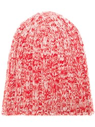 Warm Me 'Parker Twisted' Beanie Red