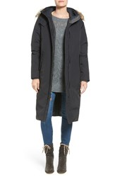 Woolrich Women's 'Patrol' Long Down Parka With Genuine Coyote Fur Trim