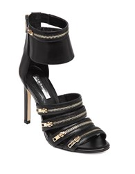 Bcbgeneration Casey Leather Stilettos Black