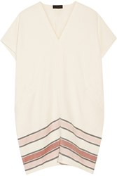 Hatch Randal Woven Cotton Dress Cream