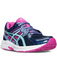 Asics Women's Gel Contend 3 Wide Running Sneakers From Finish Line Indigo Blue Aqua Splash P
