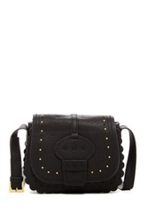 Big Buddha Pin Stud Crossbody Black