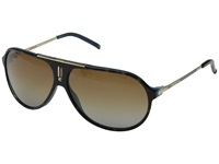 Carrera Hot P S Havana Blue Gold Brown Shade Polarized Sport Sunglasses