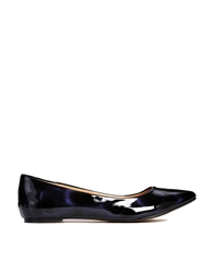 Ravel Mindy Pointed Flat Shoes Petrol