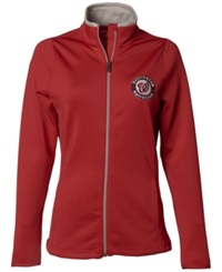 Antigua Women's Washington Nationals Leader Jacket Red