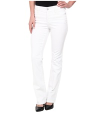 Nydj Billie Mini Boot In Optic White Optic White Women's Jeans