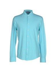 Gran Sasso Shirts Shirts Men Blue