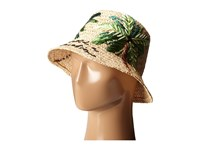 Kate Spade I Need A Vacation Cloche Sun Hat Natural Raffia Traditional Hats Neutral