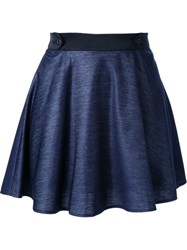 Loveless A Line Short Skirt Blue