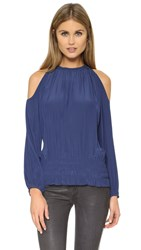 Ramy Brook Lauren Top Blueberry