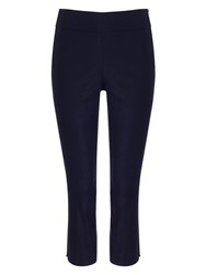 Phase Eight Britt Crop Trousers Navy