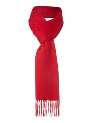 Howick Classic Cashmere Scarf Red