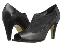 Bella Vita Ninette Black Stretch High Heels