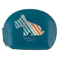 Radley Milner Small Leather Coin Purse Blue