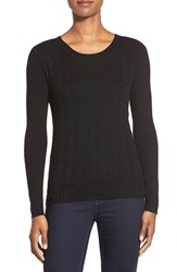 Women's Classiques Entier Mix Stitch Merino Wool Sweater