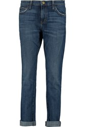 Current Elliott The Rendezvous Low Rise Boyfriend Jeans Blue