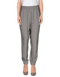Ice Iceberg Trousers Casual Trousers Women Grey