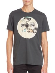 Paul Smith Graphic Tee Green Grey