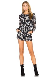 Lucca Couture Theresa Romper Black